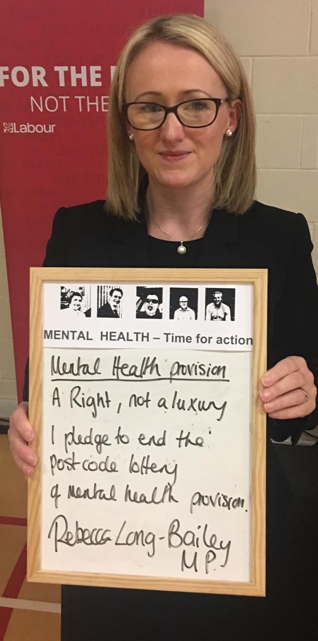 Rebecca Long-Bailey MP